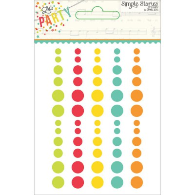 Enamel Dots - You Are Here!