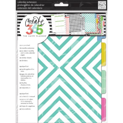 Pages Happy Planner Create 365 - Teal/Gold