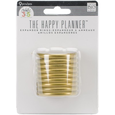 Anneaux d'extension Happy Planner Create 365 - Gold