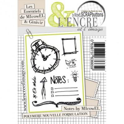 Tampons L'Encre & l'Image - Les Essentiels de Micowel & Ginivir - Notes by Micowel