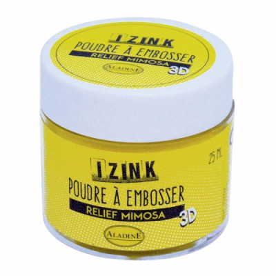 Poudre à embosser Izink - Mimosa