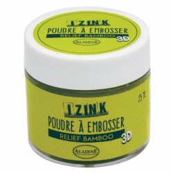 Poudre à embosser Izink - Bamboo