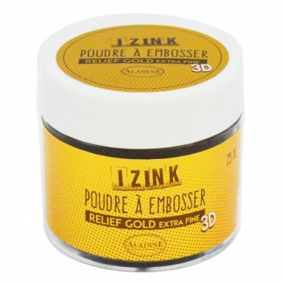 Poudre à embosser Izink - Gold (or) Extra-fine