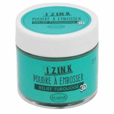 Poudre à embosser Izink - Turquoise