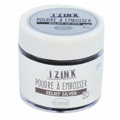 Poudre à embosser Izink - Silver (argent)
