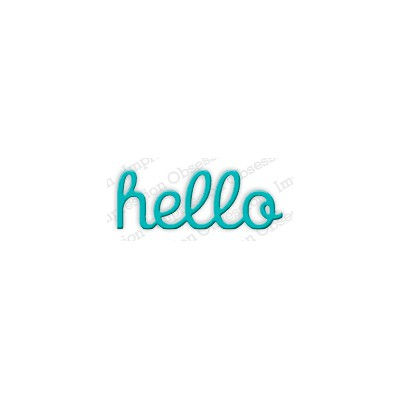 Die Impression Obsession - Hello