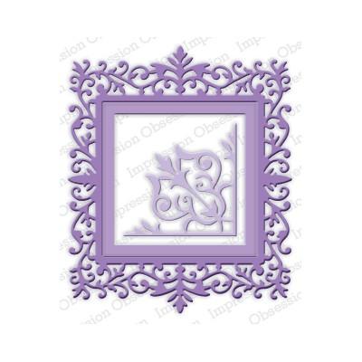 Die Impression Obsession - Ornate Square Frame