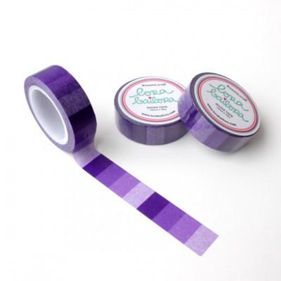 Washi Tape Lora Bailora - Dégradé violet