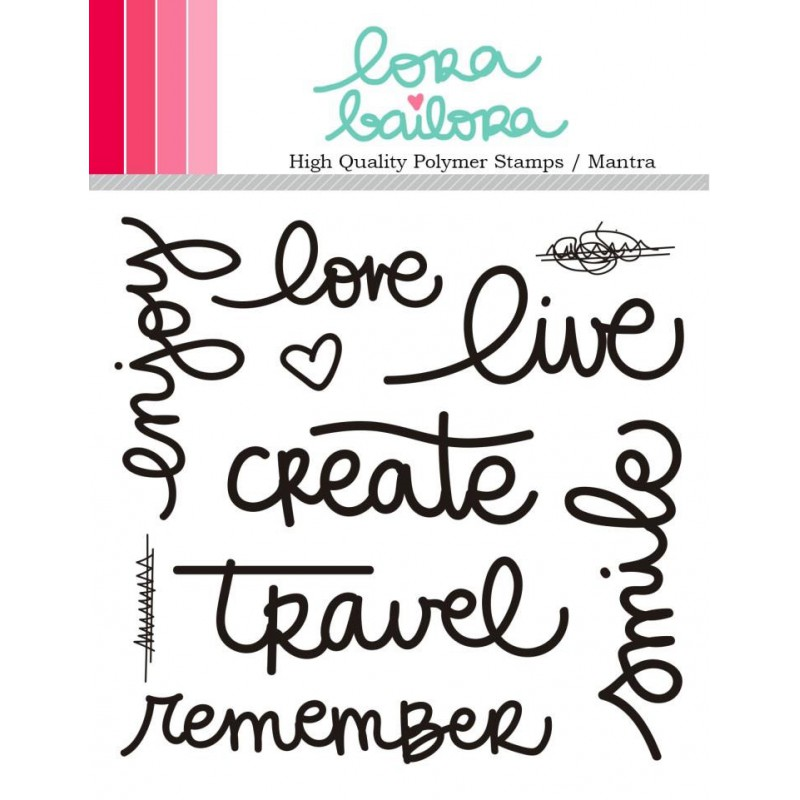 Tampons clear Lora Bailora - Mantra