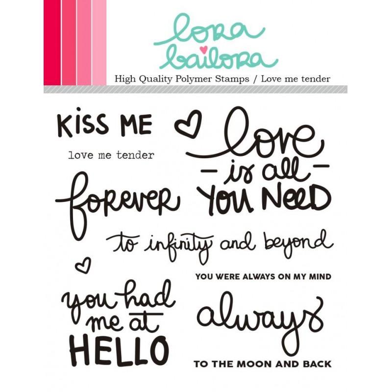 Tampons clear Lora Bailora - Love Me Tender