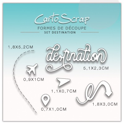 Dies CartoScrap - Set Destination