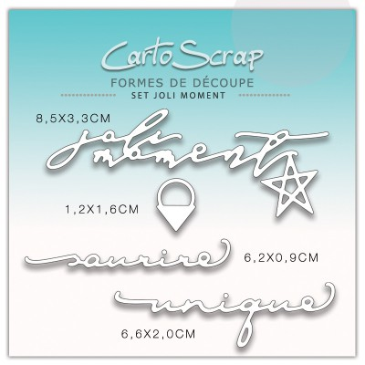 Dies CartoScrap - Set Joli Moment