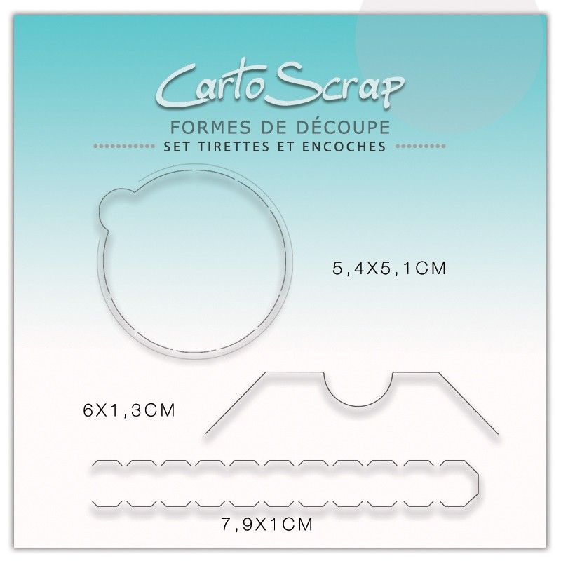 Dies CartoScrap - Set Tirettes & Encoche