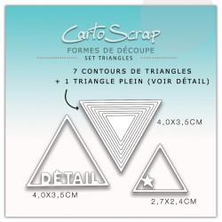 Dies CartoScrap - Set Triangles