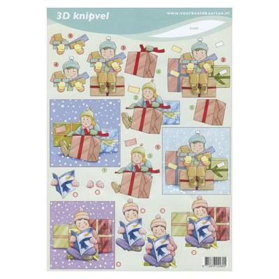 Image Carterie 3D - Ouverture de cadeaux
