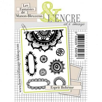 Tampons L'Encre & l'Image - Les Fantaisies de Manon-Bleuzenn - Esprit Bohème