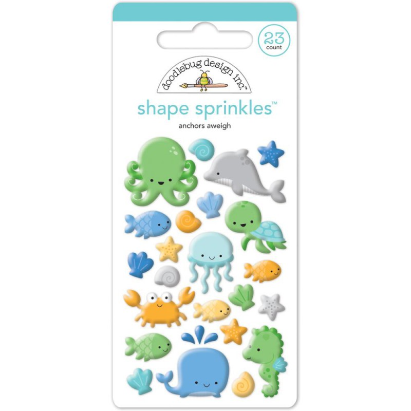 Sprinkles Shape - Anchors Aweigh
