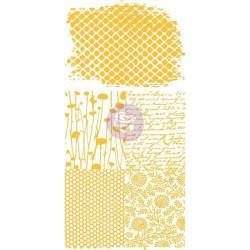 Rub-ons adhésifs Prima - Honeycomb
