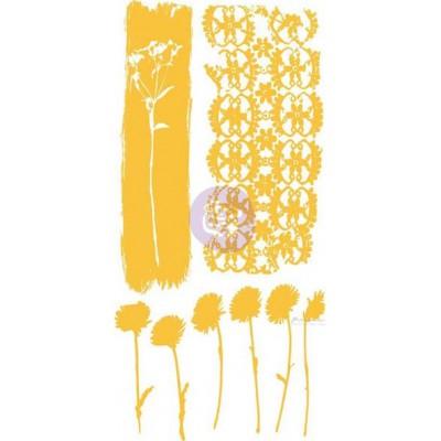 Rub-ons adhésifs Prima - Flower Stems