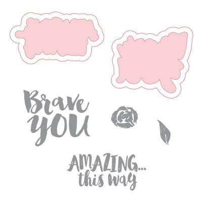 Dies & Tampons Richard Garay - Make Amazing Happen, Brave You