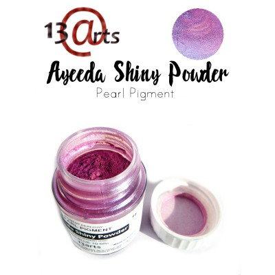 Ayeeda Shiny Powder - Red Blue