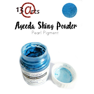 Ayeeda Shiny Powder - Silky Blue