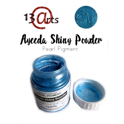 Ayeeda Shiny Powder - Luster Pure Blue