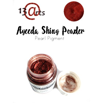 Ayeeda Shiny Powder - Wine Red Satin