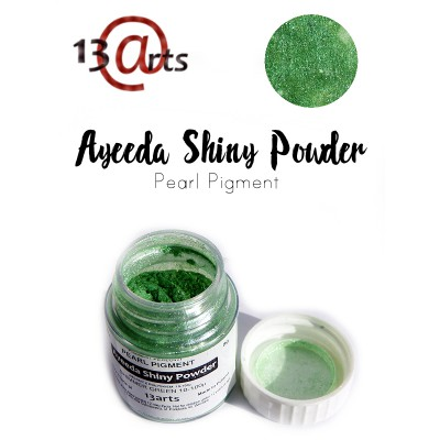 Ayeeda Shiny Powder - Shimmer Green