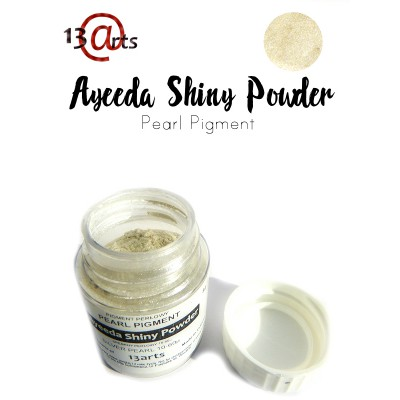 Ayeeda Shiny Powder - Silver Pearl