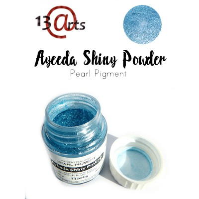 Ayeeda Shiny Powder - Shimmer Blue