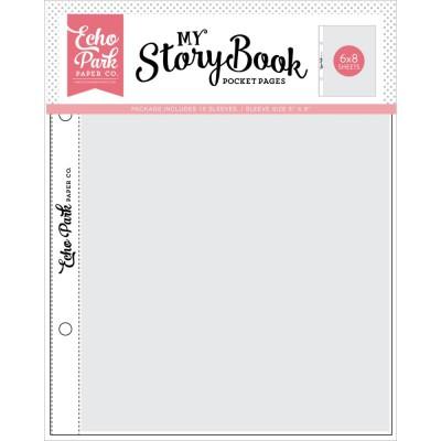 Pochettes My StoryBook 15x20 cm - Pleines