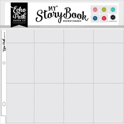 Pochettes My StoryBook 30x30 cm - Assortiment