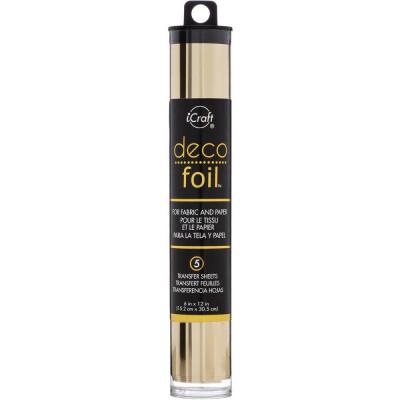 Deco Foil - Feuilles transfert métallisées - Champagne