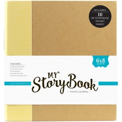 "Classeur My StoryBook - 4""x6"" - Jaune"