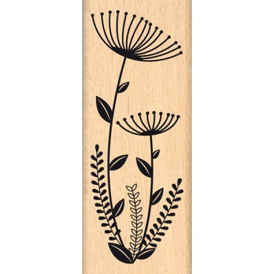 Tampon bois Florilèges - Fleurs en Duo