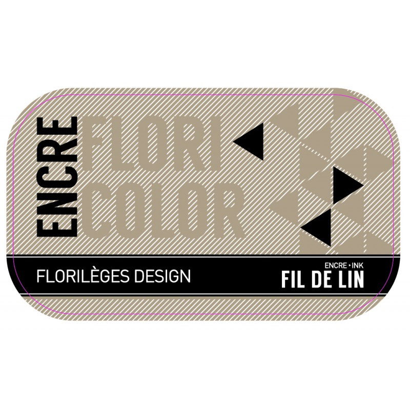 Encre Floricolor - Fil de lin