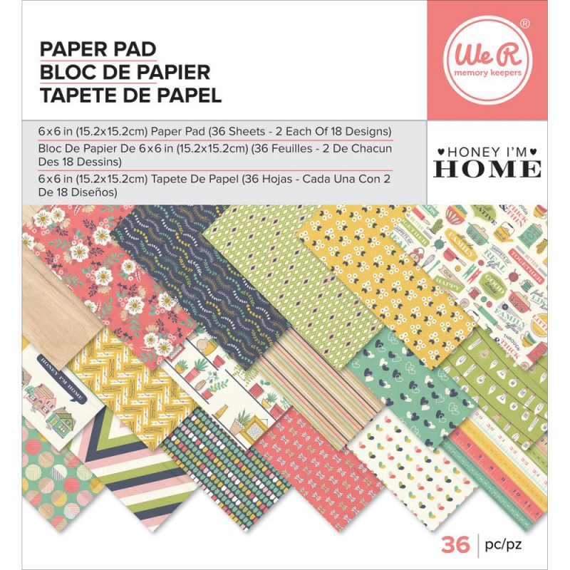 Mini Pack 15x15 - We R - Honey I'm Home