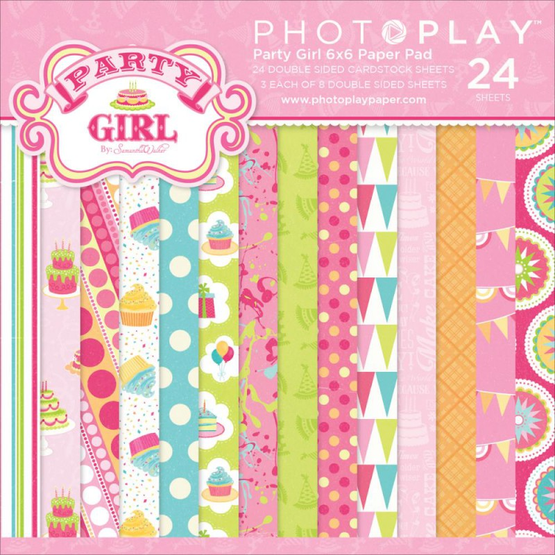 Mini Pack 15x15 - Photoplay - Party Girl