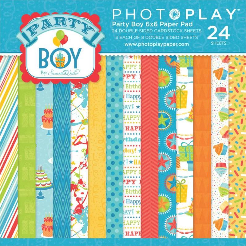 Mini Pack 15x15 - Photoplay - Party Boy