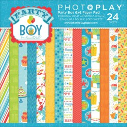 Mini Pack 15x15 - Photoplay - Party Boy