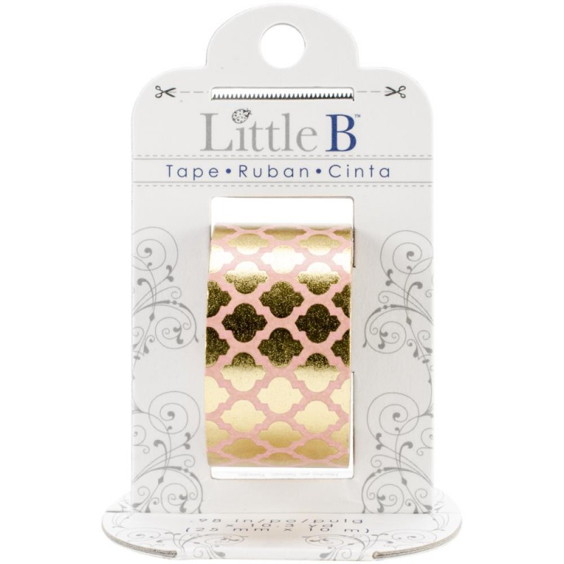 foil tape gold moroccan window 25mm cartoscrap. Black Bedroom Furniture Sets. Home Design Ideas