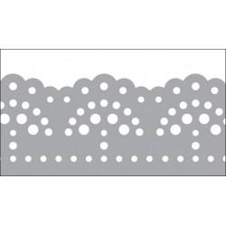 Foil Tape - Silver Doily