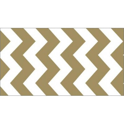 Foil Tape - Gold Chevron