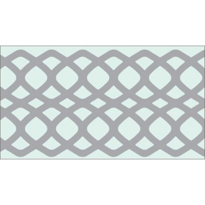 Foil Tape - Silver Honeycomb 25mm