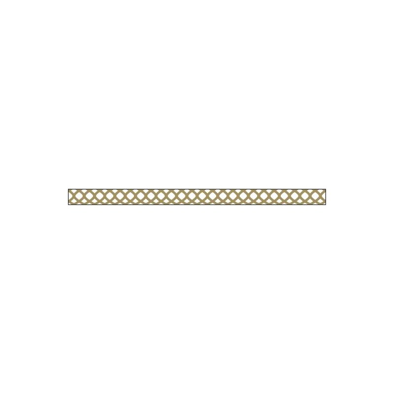 Foil Tape - Gold Honeycomb 3 mm
