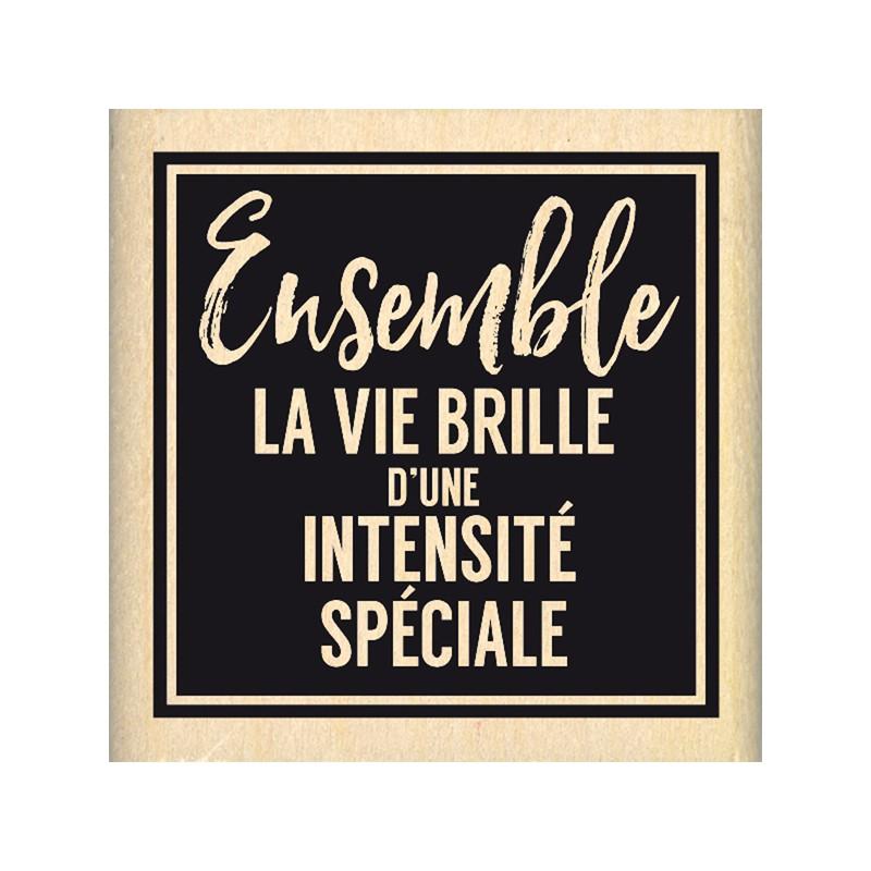 Tampon bois Florilèges - Intensité Spéciale