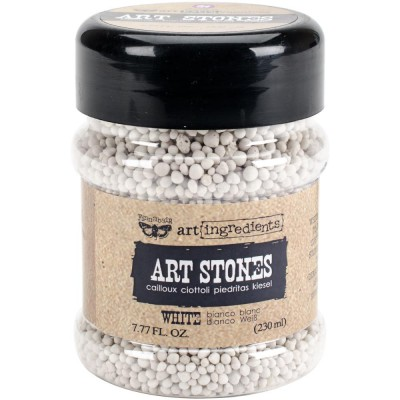 Art Stones - Art Ingredients - White