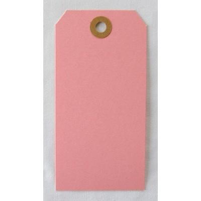 Etiquettes américaines 6x12 cm - Rose (Lot de 10)