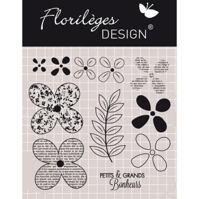 Tampons transparents Florilèges Col. 6 - Quelques Fleurs
